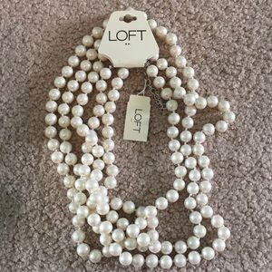 Loft Pearl Strand Necklace